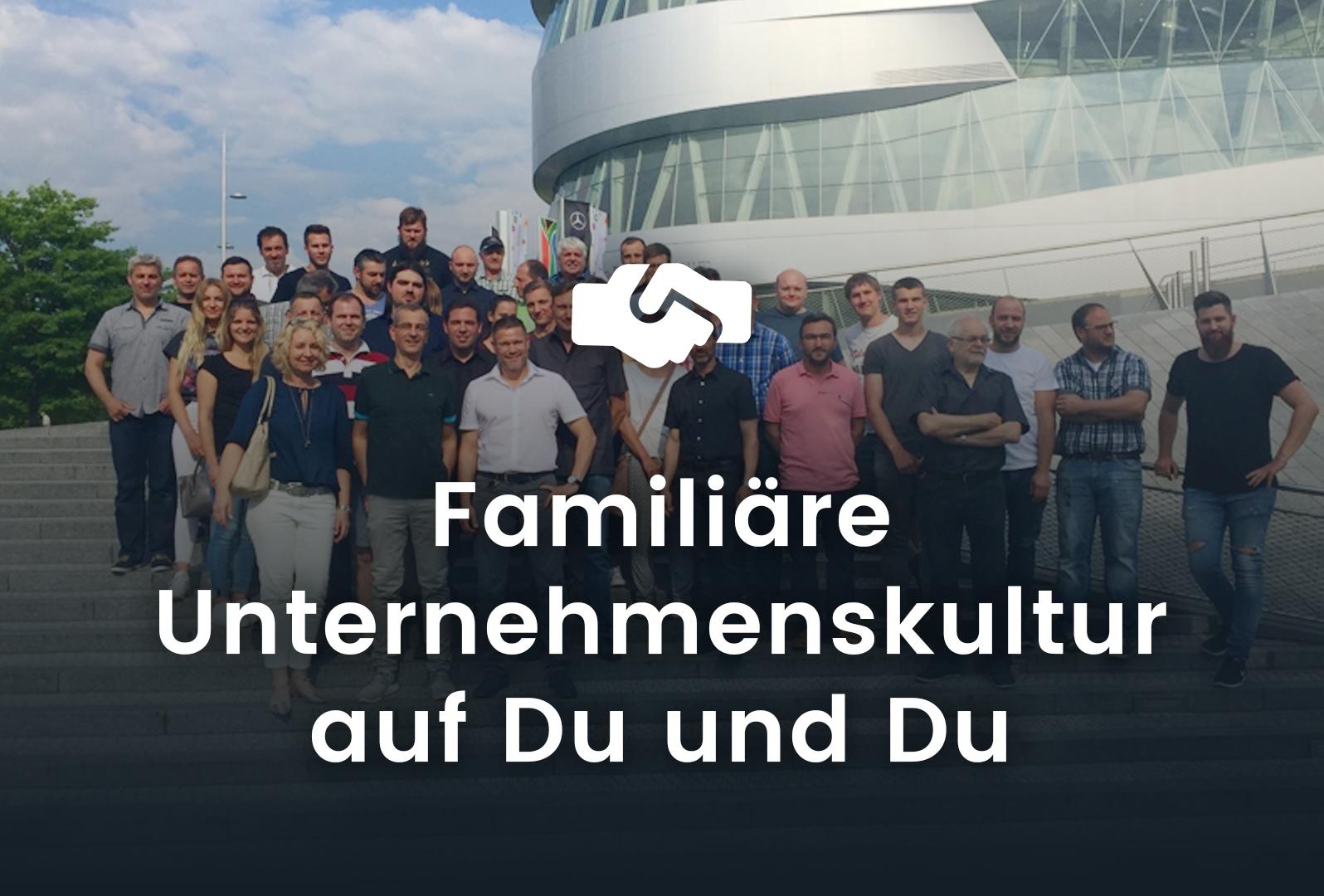 Familiäre Unternehmenskultur auf Du und Du