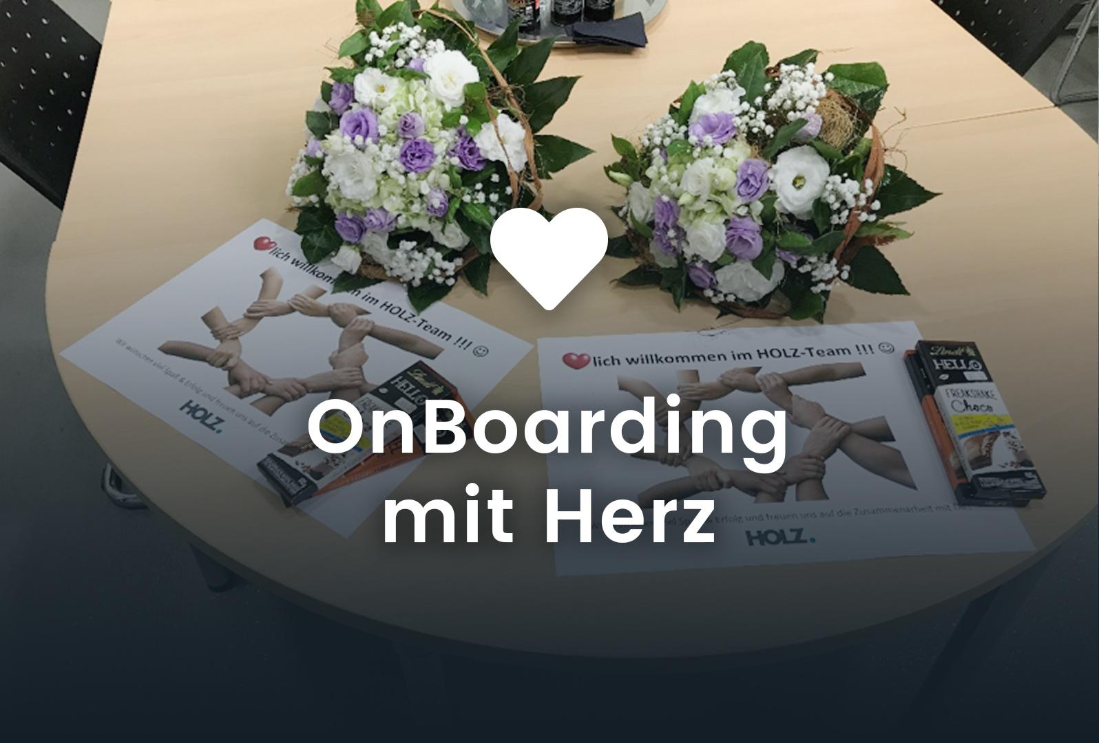 OnBoarding mit Herz